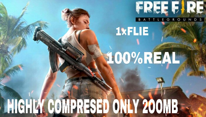 How to dwolond Free fire highly compressed in 200mb