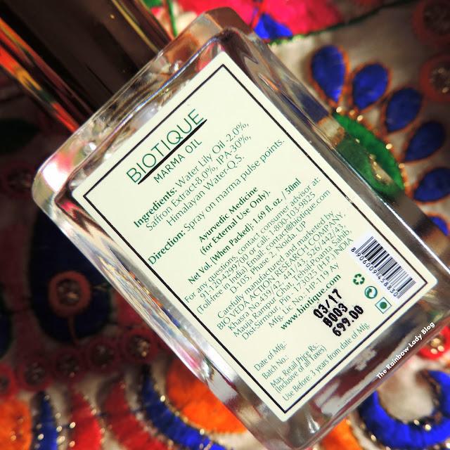 Biotique Fragrance Royal Saffron Review
