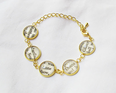 image bracelet gold anne of green gables diana barry anne shirley gilbert blythe marilla matthew cuthbert literature text two cheeky monkeys jewellery jewelry