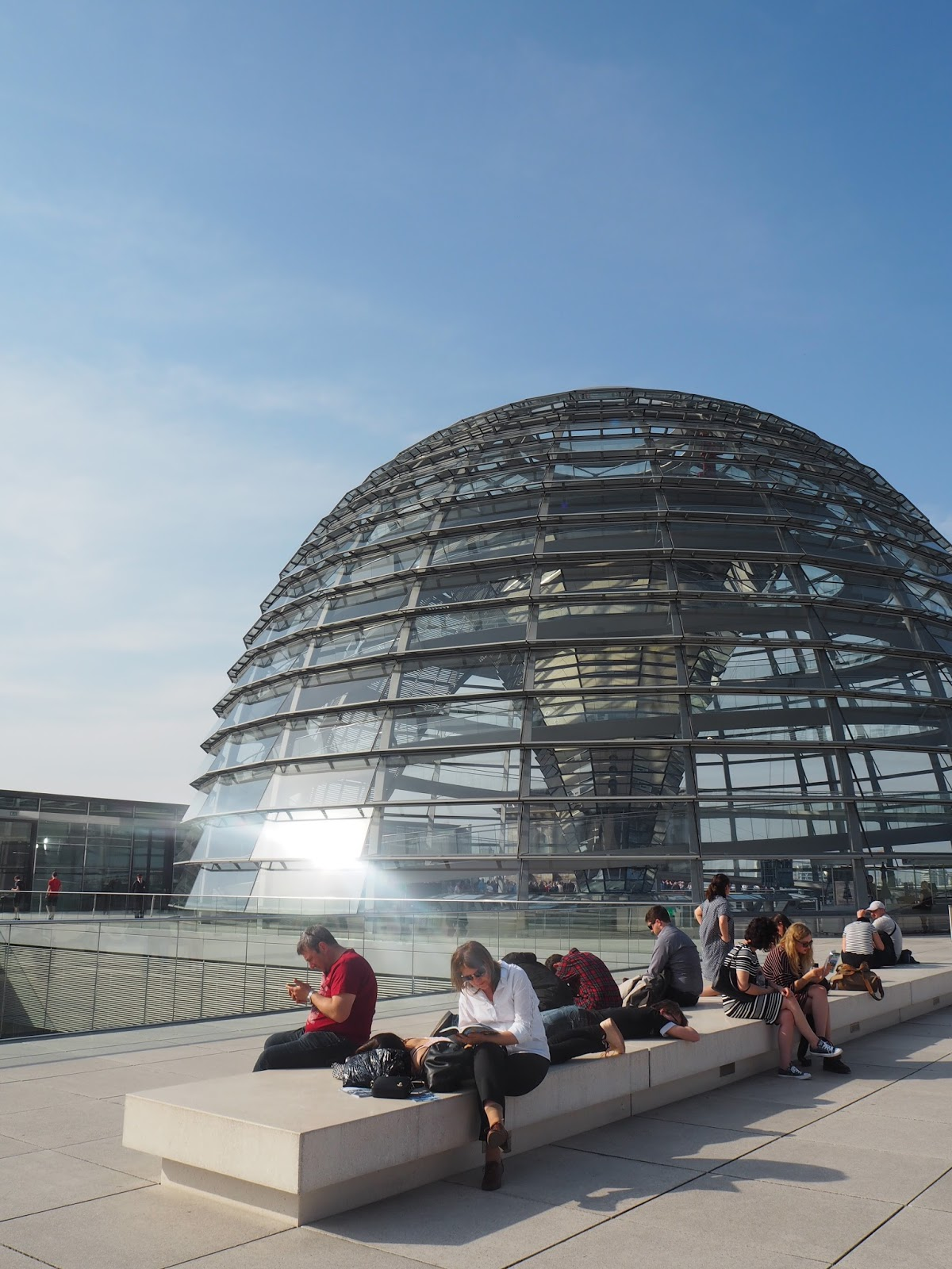 glass dome in berlin