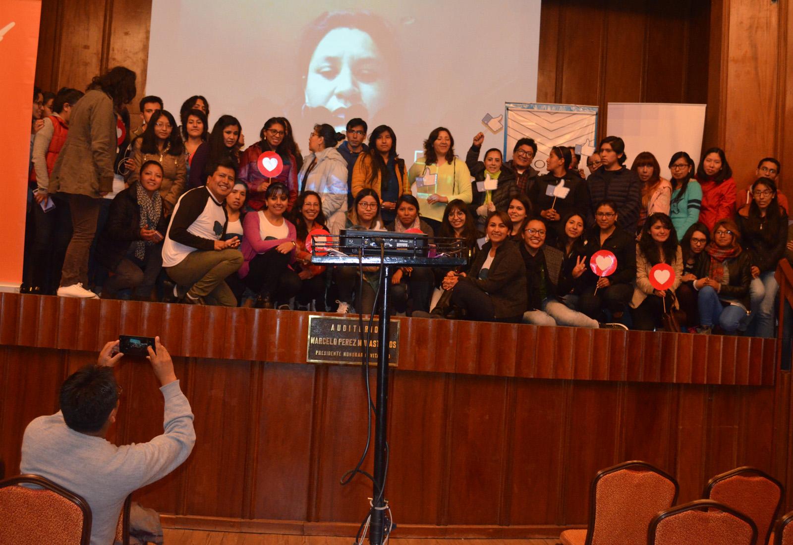 Participantes de Ciencia de Datos en  el auditorio de la CNC / ALBERTO MEDRANO