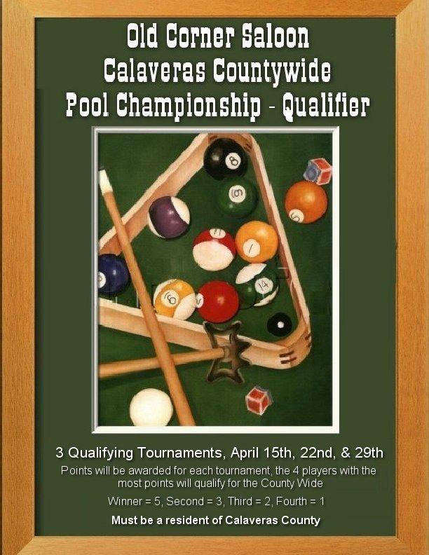 Copper Gazette: Calaveras Countywide Pool Championship