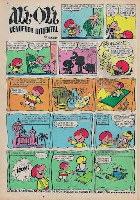 Ali Oli, Tio Vivo 2ª Almanaque 1969