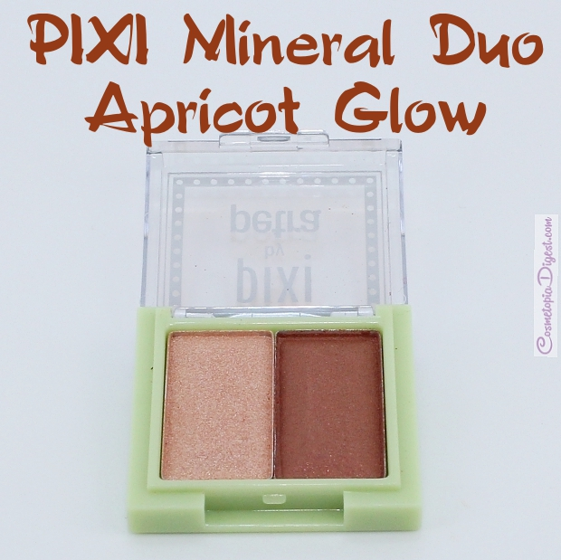 Pixi Mesmerising Mineral Duo in Apricot Glow