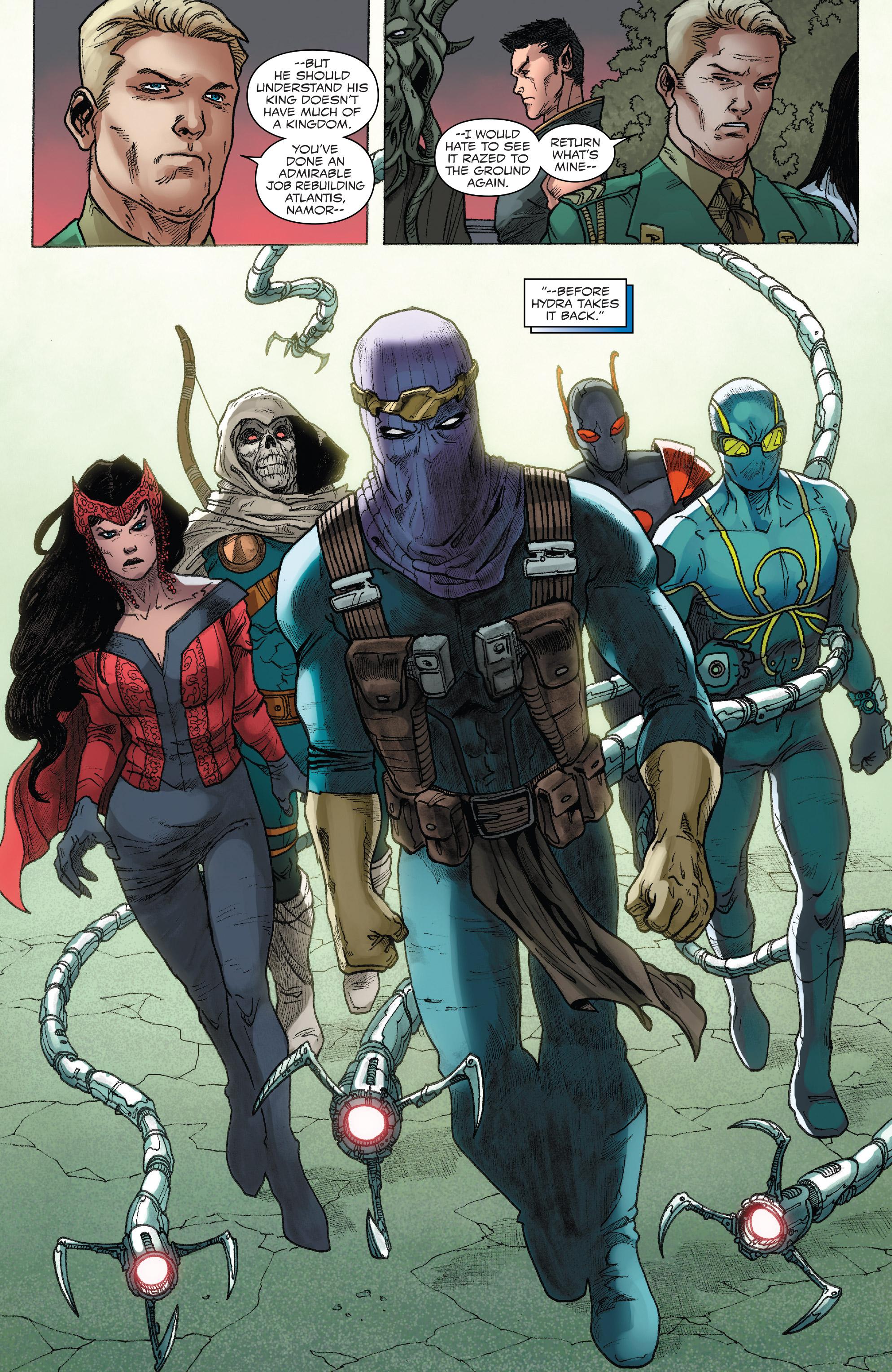 Read online Captain America: Steve Rogers comic -  Issue #18 - 22