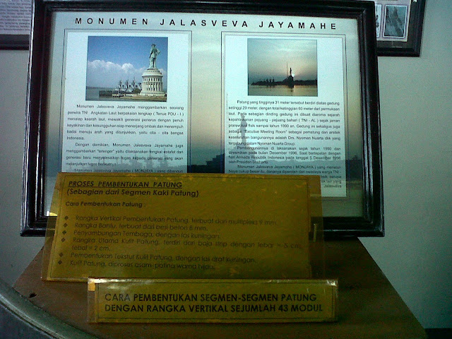 MONUMEN JALESVEVA JAYAMAHE, LAMBANG KEJAYAAN LAUT INDONESIA