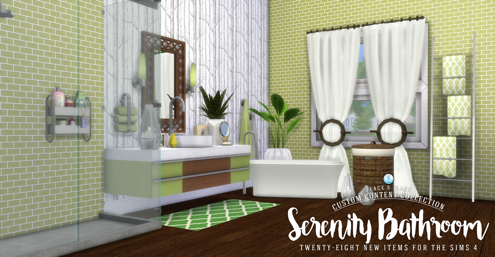 453k members in the thesims community. My Sims 4 Blog: Updated - Serenity Bathroom Set - 28 New ...