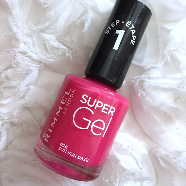 Rimmel Super Gel Beach Ready Collection - Sun Fun Daze
