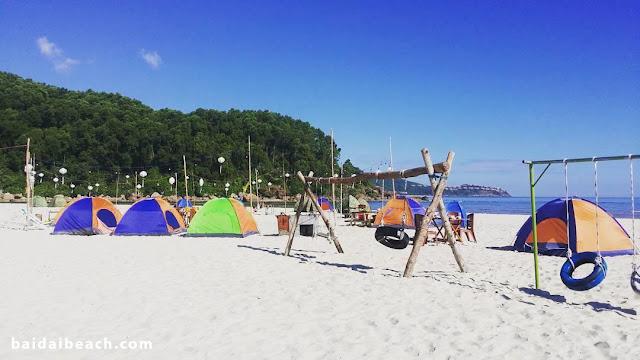 Cắm trại đêm tại biển Bãi Dài Nha Trang
