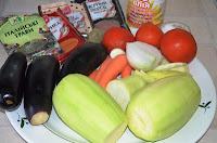 Продукты для соте из овощей