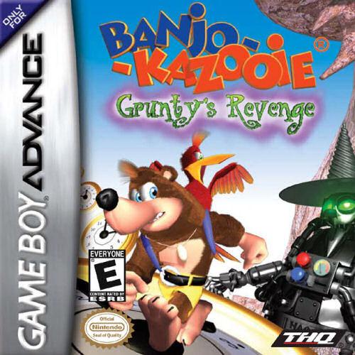 ROMs - Banjo-Kazooie - Gruntys Revenge (Português) - GBA Download
