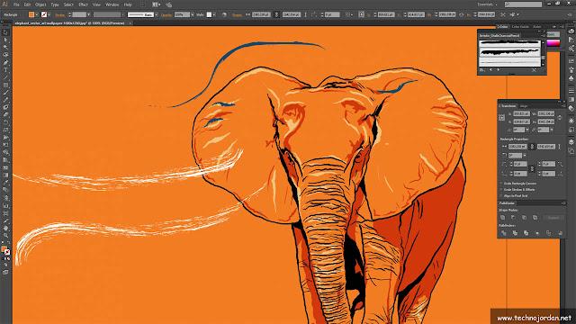 برنامج illustrator