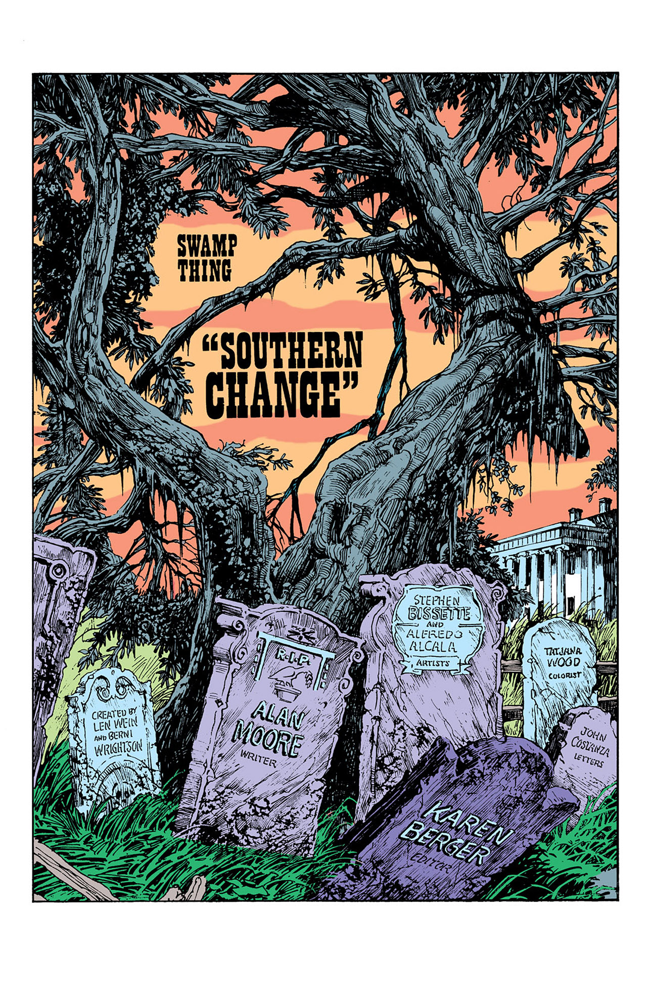 Swamp Thing (1982) Issue #41 #49 - English 4