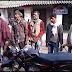 लूट की दो बाइक से साथ पांच गिरफ्तार