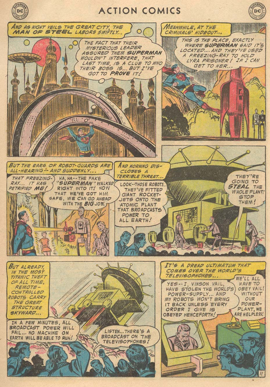 Read online Action Comics (1938) comic -  Issue #215 - 13