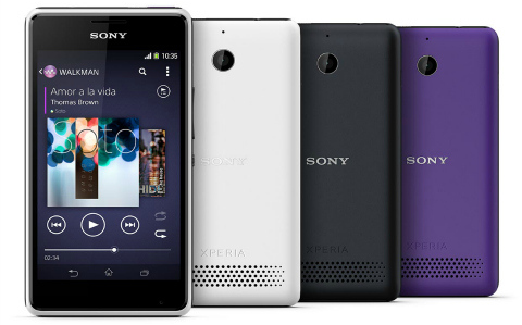Sony Xperia E1 and Xperia E1 dual