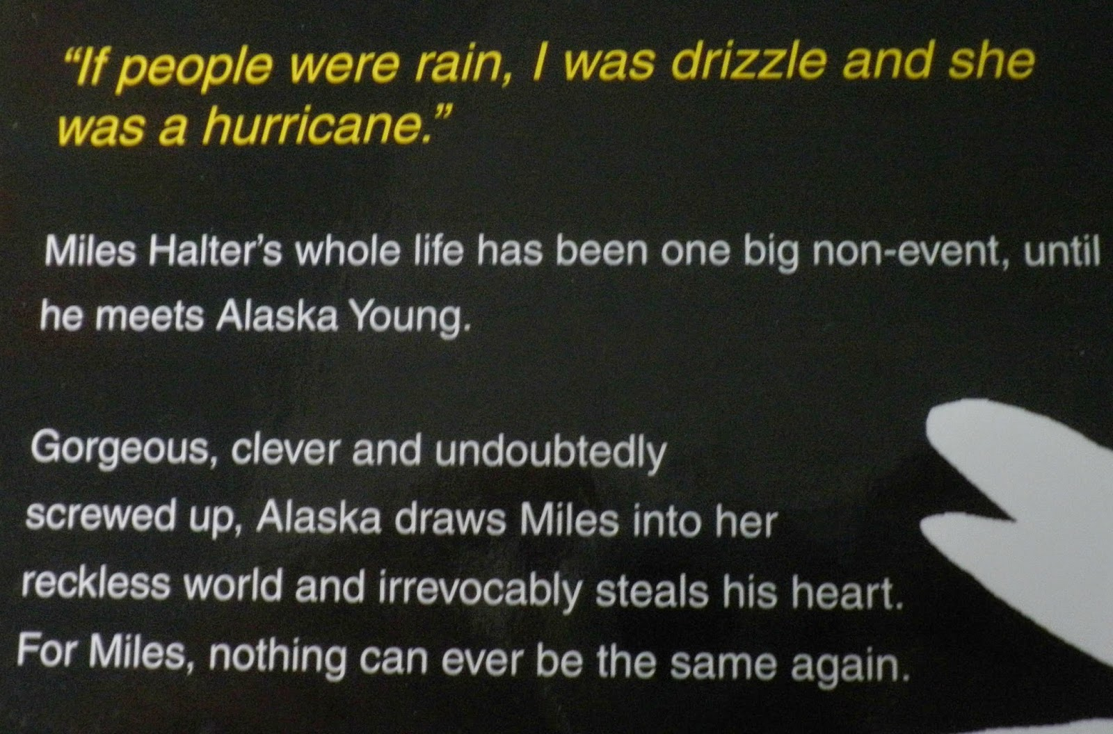 Looking For Alaska Miles: Alegria: HUILBOEKEN Review: The Fault In Our Stars