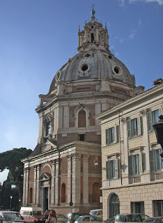 The Church of Santa Maria de Loreto in Rome was Sangallo's first major commission