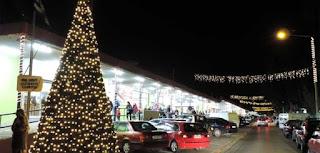 Φωταγωγήθηκε χριστουγεννιάτικο δέντρο στο ΒΙΟ.ΠΑ. Καλαμάτας
