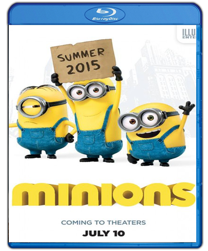 Minions 2015 Dual Audio
