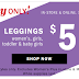 Old Navy Leggings Just $5 Online or In Store (Today Only!)