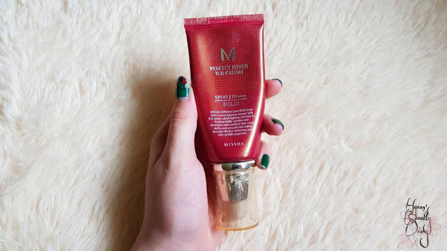Review; Missha's M Perfect Cover B.B. Cream SPF42 / PA+++ No. 21 Light Beige