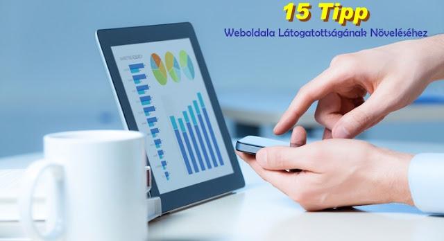 weboldal látogatottság növelés