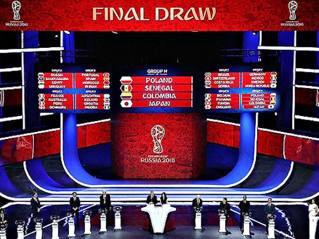 ロシアW杯グループリーグ組み合わせ