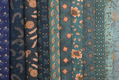Kim Diehl Fabrics - Blue Selection