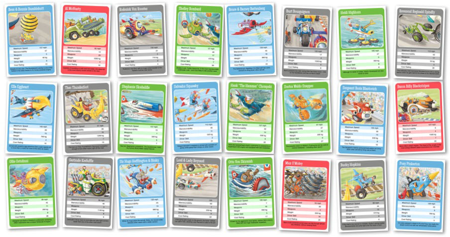 Top Trumps Rules >> Scribble Street News The Silver Serpent Cup Top Trumps Card