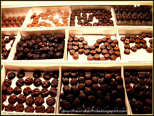 Las Vegas chocolate factory, MnM chocolate