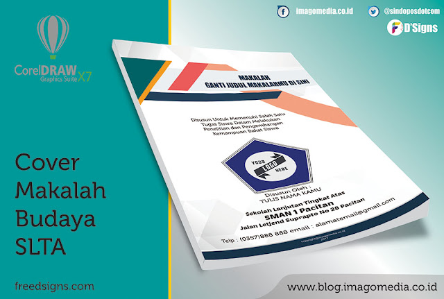 Contoh  Cover Makalah Budaya Lokal Tingkat Sekolah