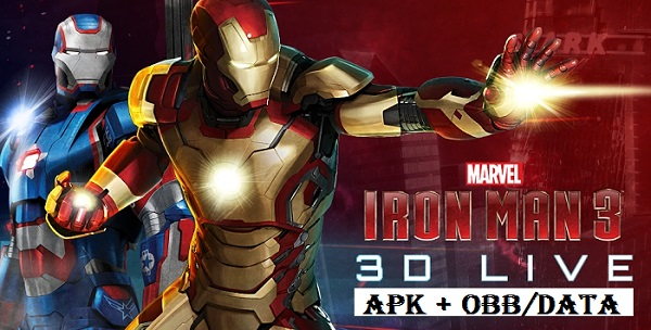 Download Iron Man 3 Apk Obb Data For Android