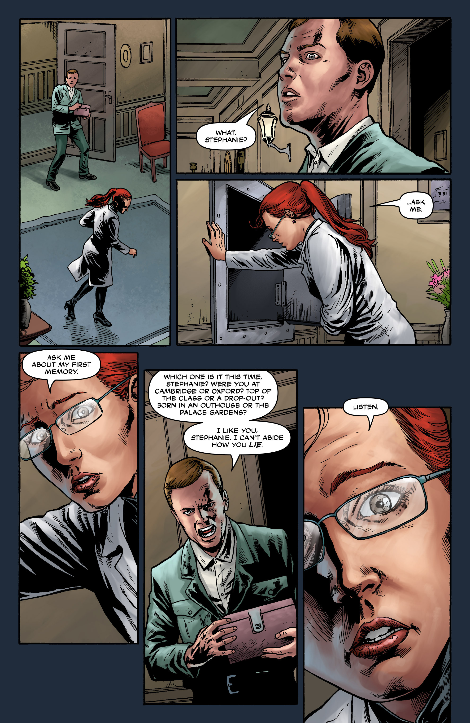 Read online Uber comic -  Issue #12 - 21