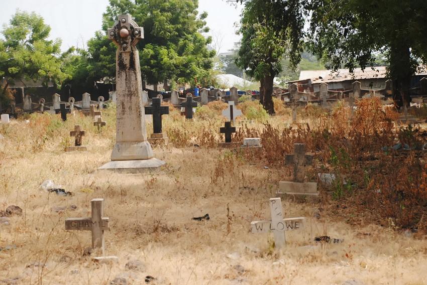 nigeria 1st cemetery lokoja kogi
