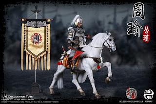 303TOYS 1/6 Three Kingdoms Series - Zhou Yu A.K.A Gongjin