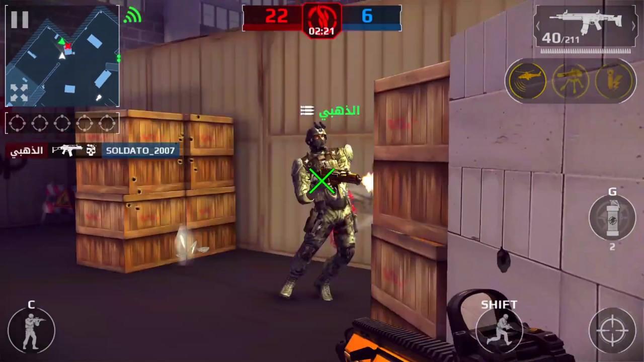Modern Combat 5: eSports FPS v2.9.0k Mod Apk (God Mode+Anti Ban)