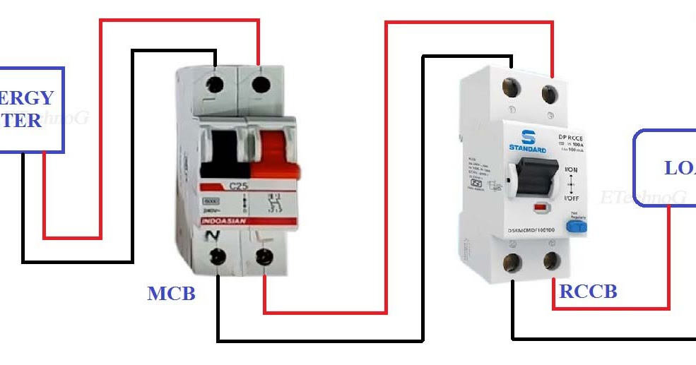 Astonishing Miniature Circuit Breaker Wiring Diagram General Wiring Diagram Data Wiring 101 Orsalhahutechinfo