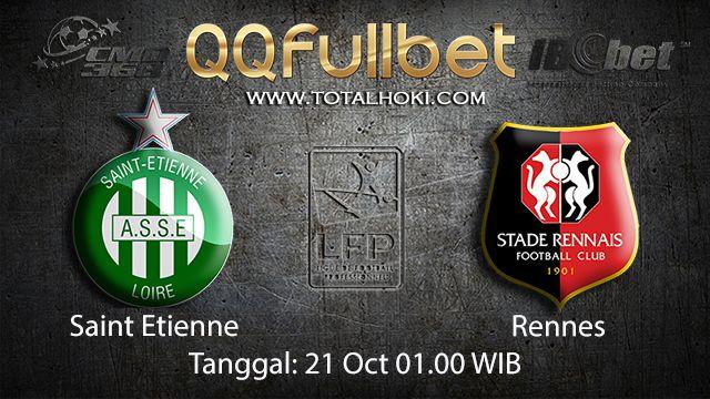 Prediksi Bola Jitu Saint Etienne vs Rennes 21 Oktober 2018 ( French Ligue 1 )