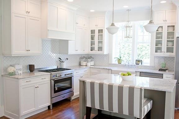 The Granite Gurus: Carrara Marble Kitchen