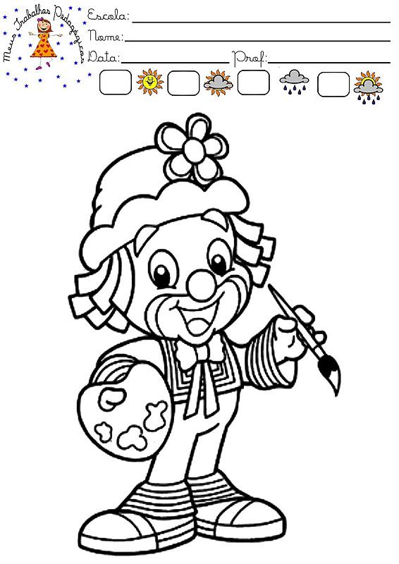 Patati Patata Para Imprimir E Colorir Mundinho Da Crianca