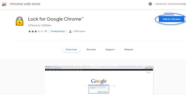 كيفية عمل كلمة السر لمتصفح جوجل كروم