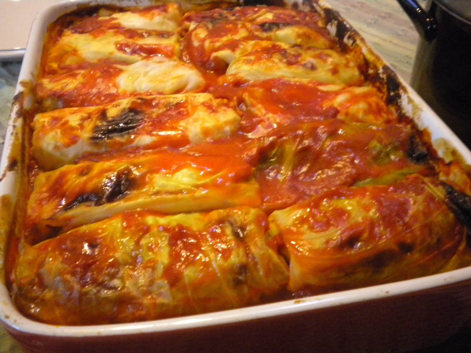 Gormandize: Posna Sarma (Croatian Rice-filled Cabbage Rolls)