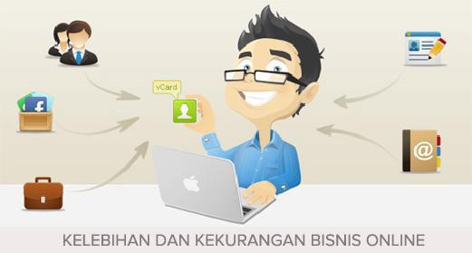 16 Kelebihan dan Kekurangan Bisnis Online ( Untung dan Rugi Bisnis Online)