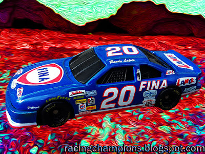 Randy LaJoie #20 Fina Lance Snacks Ford Racing Champions 1/64 NASCAR diecast blog BGN Cup1994 1993 Dick Moroso #74 age