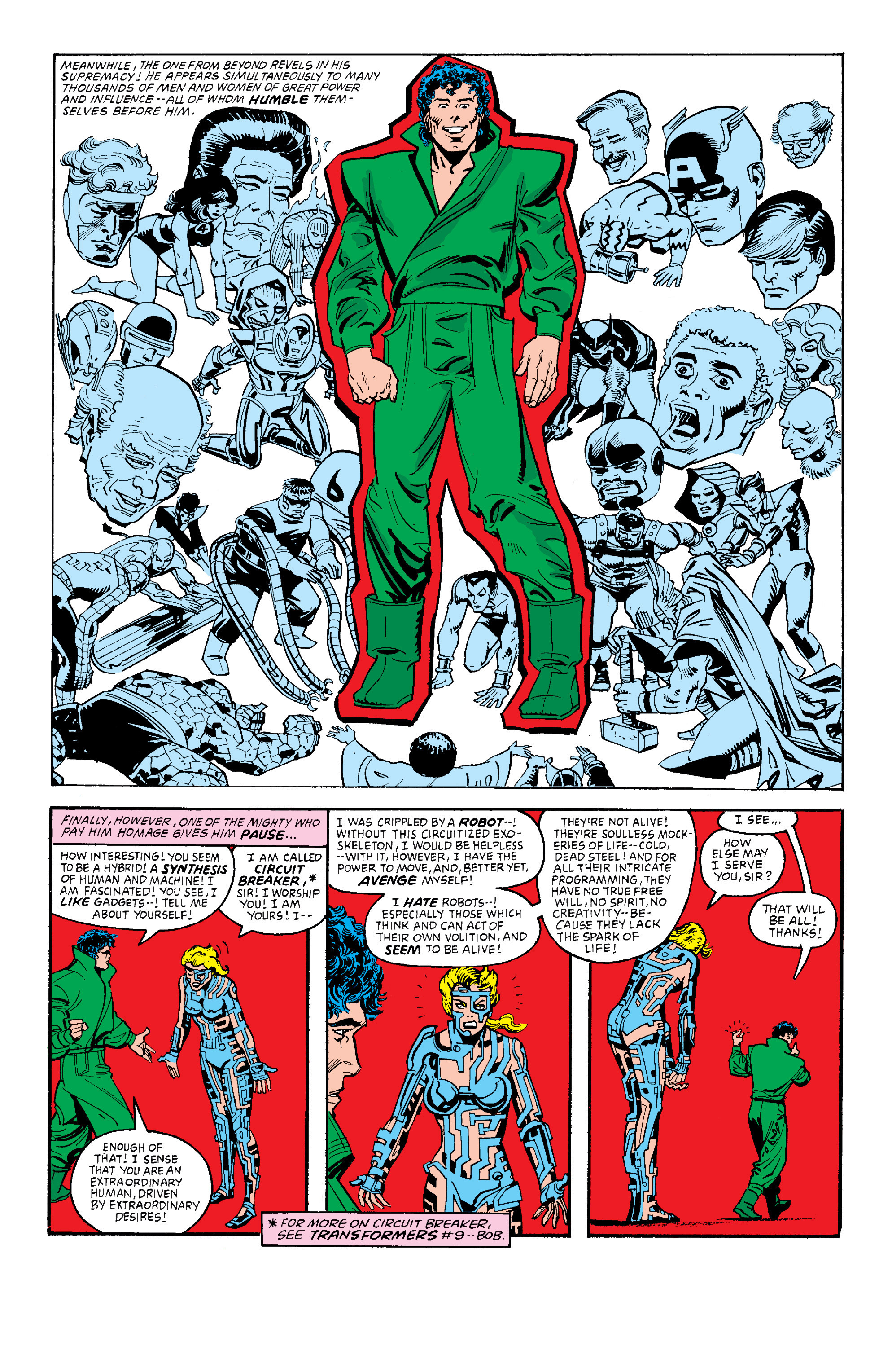 Read online Secret Wars II comic -  Issue #3 - 22