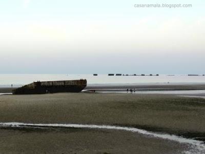 Porto Mulberry - Arromanches - Praia Dia D