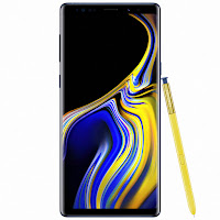 Samsung Galaxy Note 9 (front)