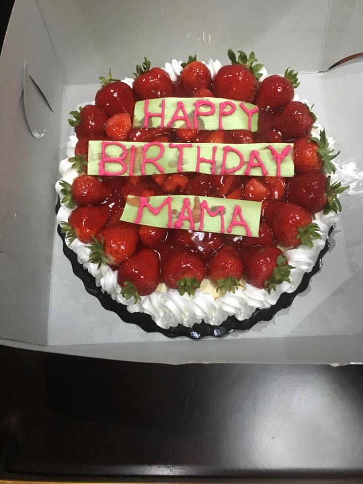 Birthday Name Cake Happy Birthday Mama cake