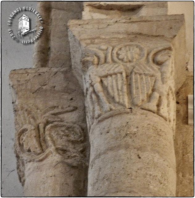MONTAGNE (33) - Eglise romane Saint-Georges (Intérieur)
